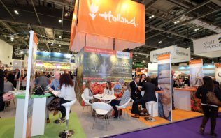 Holland-stand op WTM 2016